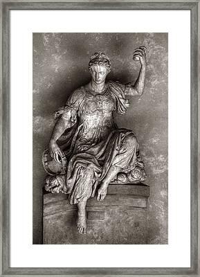 Bargello Sculpture Framed Print