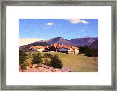 Bariloche Argentina 1956 Framed Print
