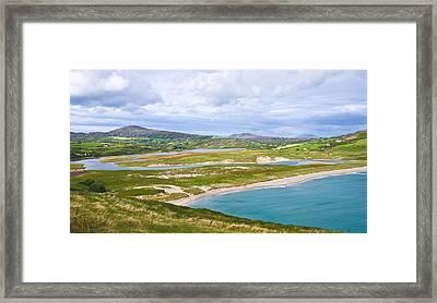 Barleycove Beach Cork Ireland Framed Print