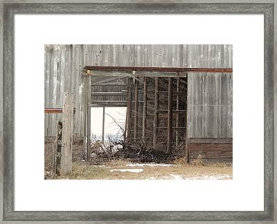 Barn # 37 Framed Print by Todd Sherlock