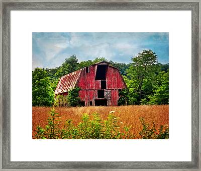 Barn 23 Framed Print by Marty Koch
