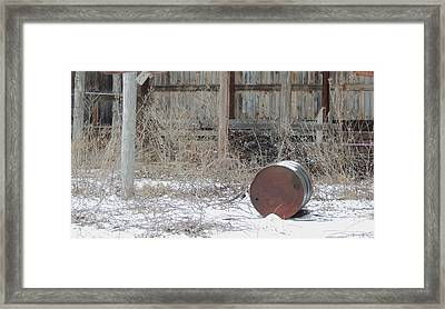 Barn #38 Framed Print by Todd Sherlock