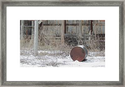 Barn #38 Framed Print by Todd Sherlock