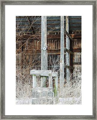 Barn #39 Framed Print by Todd Sherlock