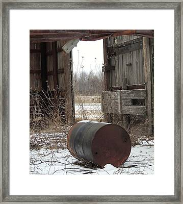 Barn #40 Framed Print by Todd Sherlock