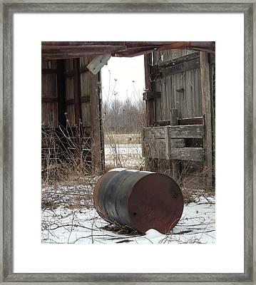 Barn #40 Framed Print by Todd Sherlock