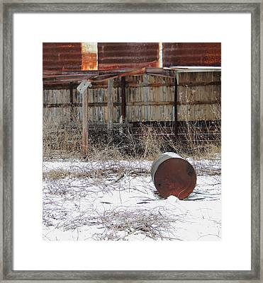 Barn #41 Framed Print by Todd Sherlock