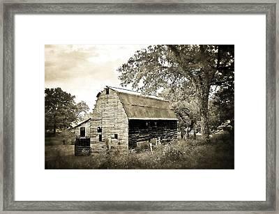 Barn 55 Framed Print