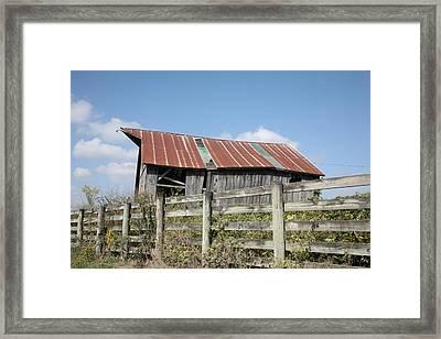 Barn 9222 Framed Print
