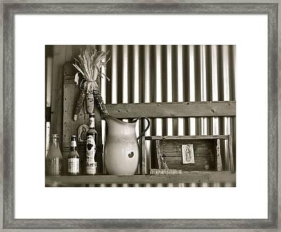 Barn Altar Framed Print