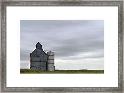 Barn Amarillo I-40 Framed Print