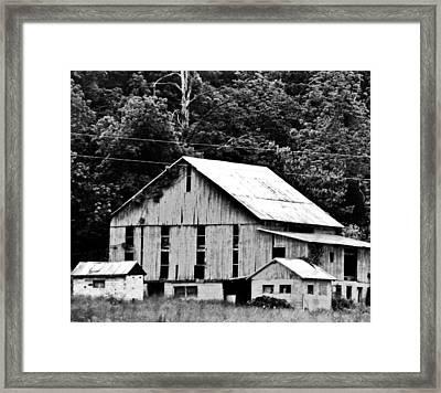 Barn Art Framed Print