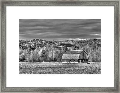 Barn At Sleeping Bear Dunes Framed Print by Twenty Two North Photography