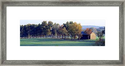 Barn Baltimore County Md Usa Framed Print