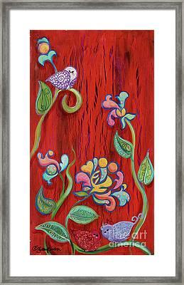 Barn Birdys Framed Print