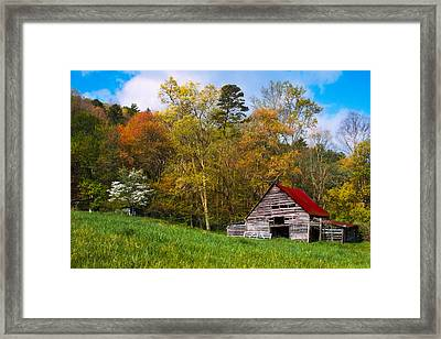 Barn Colors Framed Print