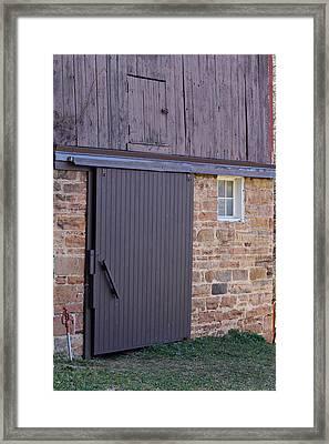 Barn Door Framed Print