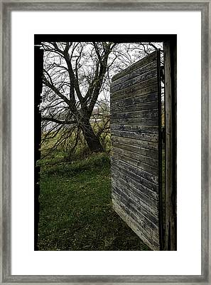Barn Door No. 1 Framed Print