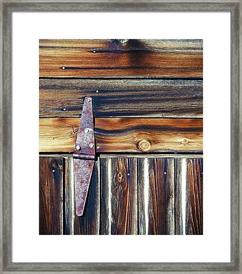 Barn Door Framed Print