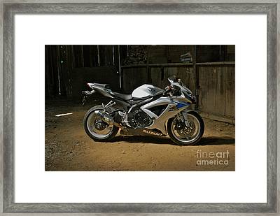 Barn Find Framed Print