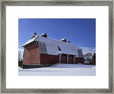 Barn Find Framed Print by Peter Chilelli
