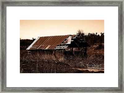 Barn Free Framed Print by R McLellan
