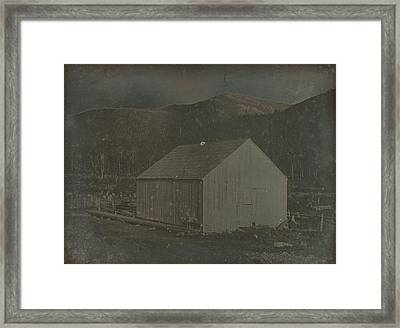 Barn In Harts Location, New Hampshire Dr. Samuel A. Bemis Framed Print by Litz Collection