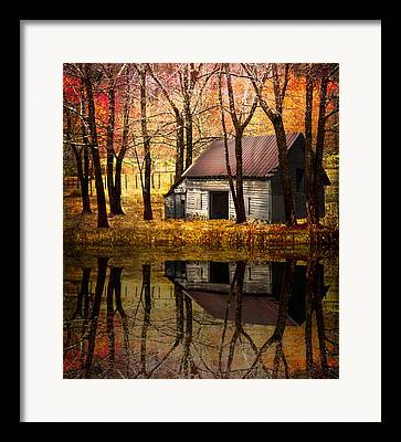 Barn In Tennessee Framed Prints