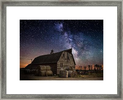 Barn Iv Framed Print by Aaron J Groen