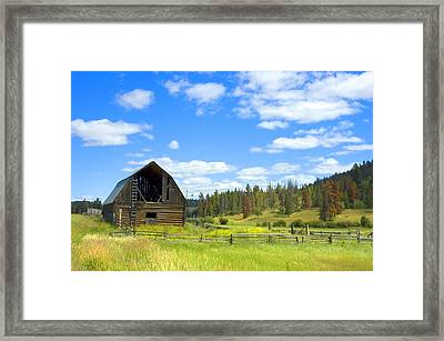 Barn Framed Print by Michele Wright