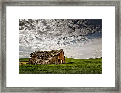 Barn No.2 Framed Print