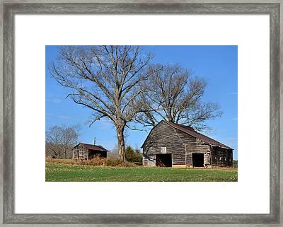 Barn On Baltimore Road - 51008784b Framed Print by Paul Lyndon Phillips