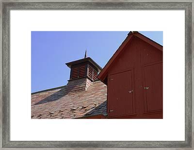 Barn Roof Framed Print