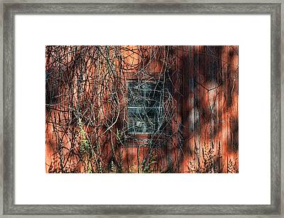 Barn Side Framed Print