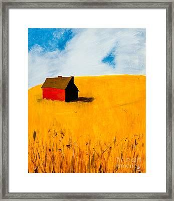 Barn Framed Print by Stefanie Forck