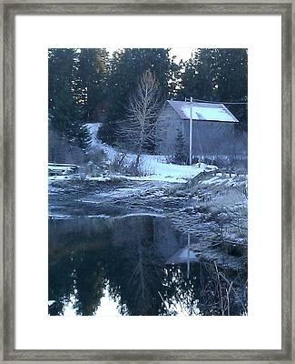 Barn Framed Print by Susan Mumma