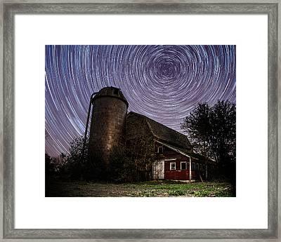 Barn Trails Framed Print
