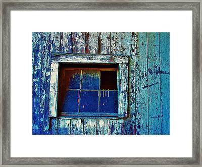 Barn Window 1 Framed Print
