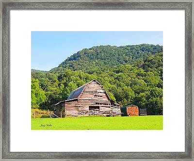 Barn Wood Framed Print