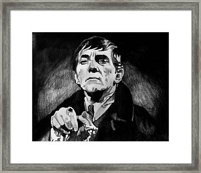 Barnabas Collins Framed Print by Jeremy Moore