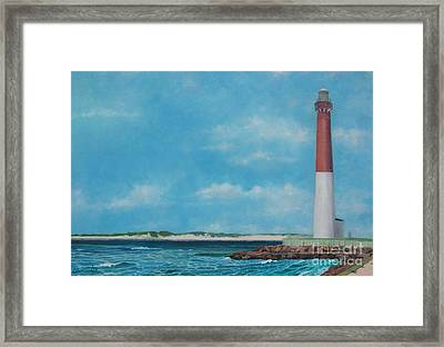 Barnegat Bay Lighthouse Framed Print