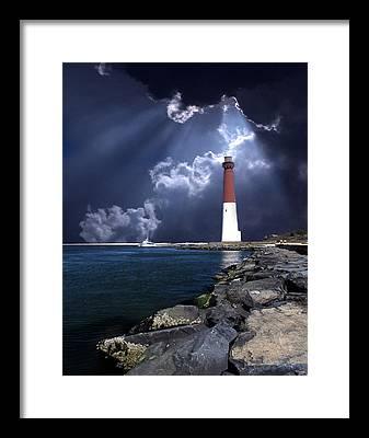 Beacon Framed Prints