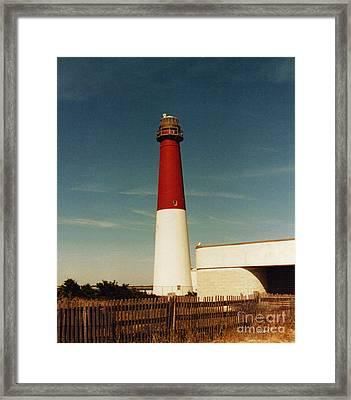 Barnegat Light Framed Print by Timothy Clinch