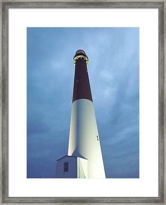 Barnegat Lighthouse Framed Print by John Wartman