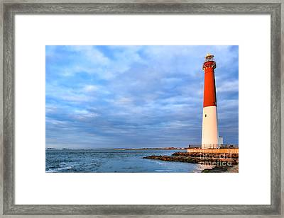 Barnegat Lighthouse Framed Print by Olivier Le Queinec