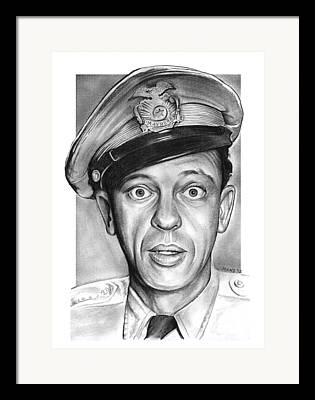 Andy Griffith Show Framed Prints