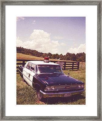 Barney Fife Framed Print by Tracy W