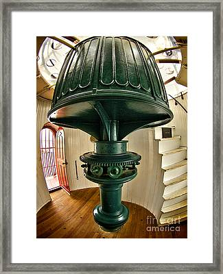 Barney's Gears Framed Print by Mark Miller