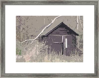 Barns #4 Framed Print by Glenn Cuddihy
