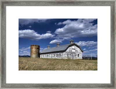 Barns Are Beautiful II Framed Print